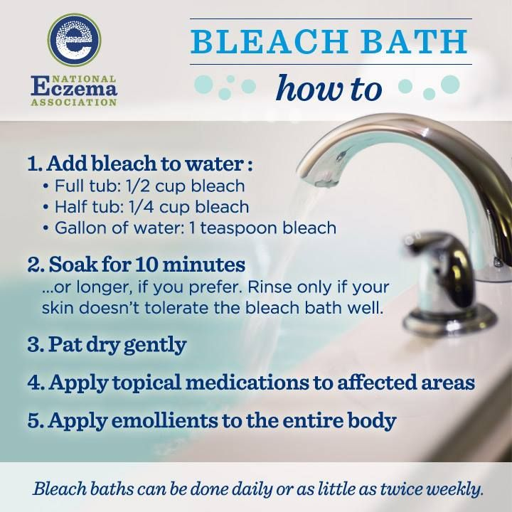 Bleach baths are great for people with skin problems (e.g. Keratosis Pilaris). A friend of mine and I both have it. She started bleach baths and hers is now gone/under control. I will be trying it soon :) I will edit this post once I have tried it to give my results.