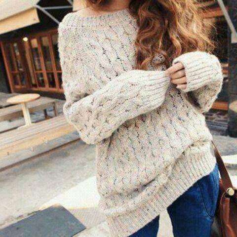 Oversized Knitt Sweater