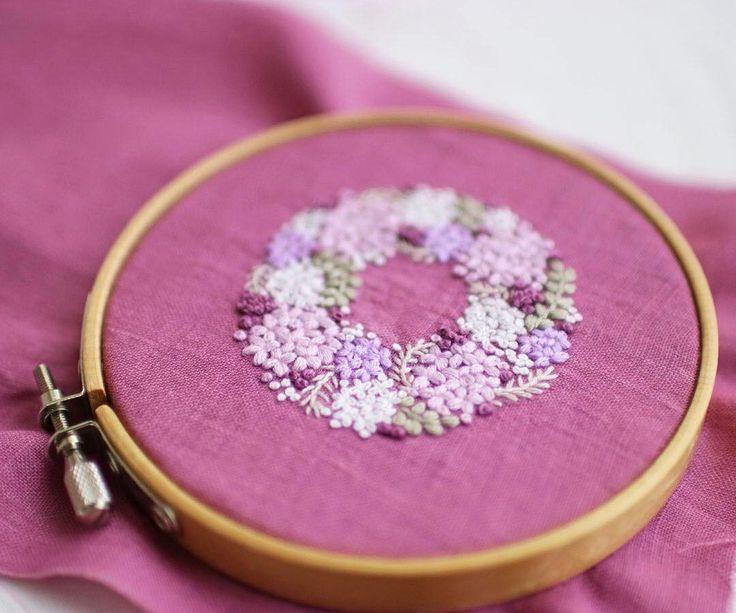 いいね!443件、コメント4件 ― @yula_handmade_2008のInstagramアカウント: 「* . Purple hydrangea . .…」