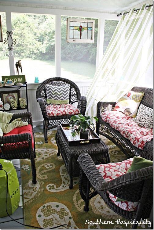 Best 25 Wicker Patio Furniture Ideas On Pinterest