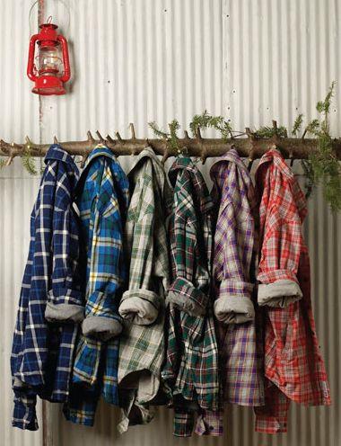 Burkman Bros. men's plaid shirts