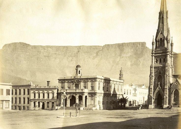 Greenmarket Square, Cape Town 1876