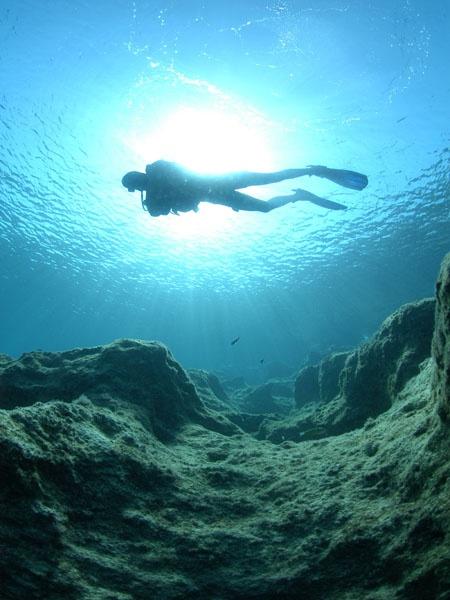 Scuba Diving, Kaş, Antalya, Turkey