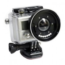 It will allow you to adapt almost any 55 mm filter to your GoPro camera. The desiccant ball groove ensures that the BlurFix stays fog free when you descend under the waves. In addition, should your filter shatter while you are diving because you dive too deep or bump the filter against a rock, your GoPro camera will stay dry because the integrity of the OEM housing and lens will stay intact. Simply install new desiccant balls and screw on a new filter.  Avaliable at www.aquaprohd.ca