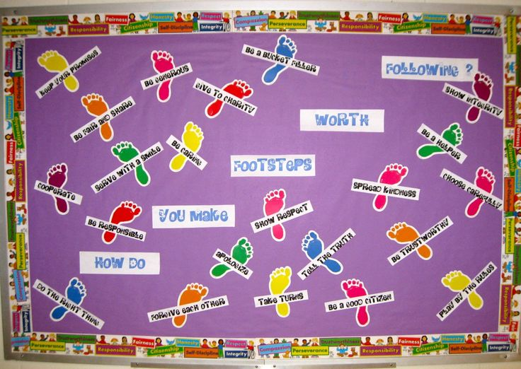 Leader in Me Bulletin Boards | Footsteps Worth Following