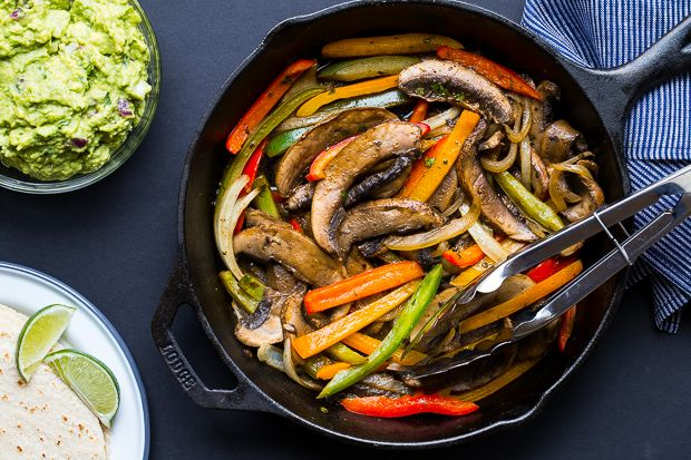 We have a feeling these fajitas are going to be making a frequent appearance on your dinner table--they're a 30-minute meal your whole family will love.