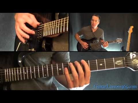 Metallica - Blackened Guitar Lesson (Chords/Riffs Part 2 - Harmony Section) - YouTube