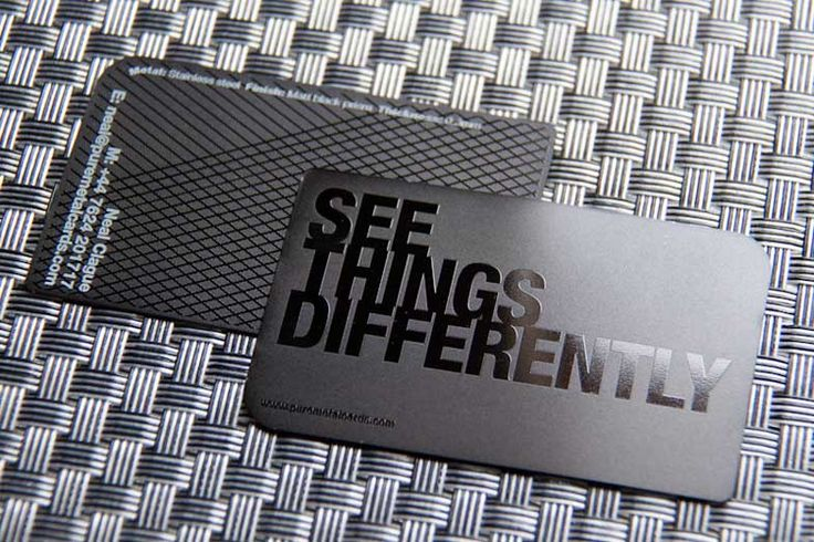 20 Luxurious Metal Business Card Designs (Part 2)