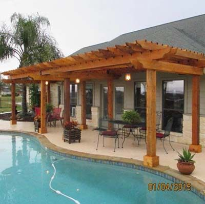 51 free diy pergola plans ideas that you can build in for How do you build a deck yourself