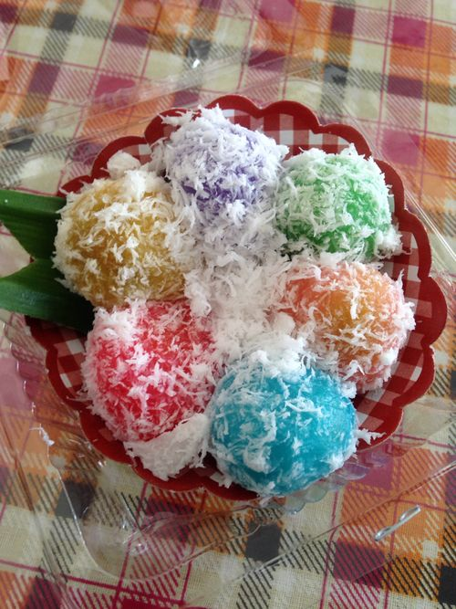 Klepon, Traditional Indonesian Food