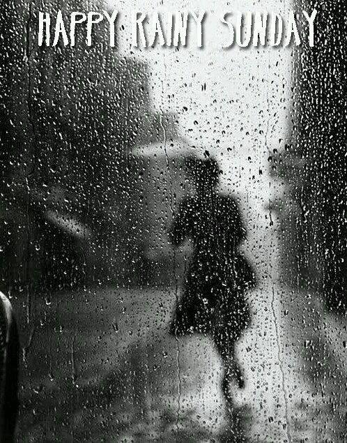 Happy Rainy Sunday!