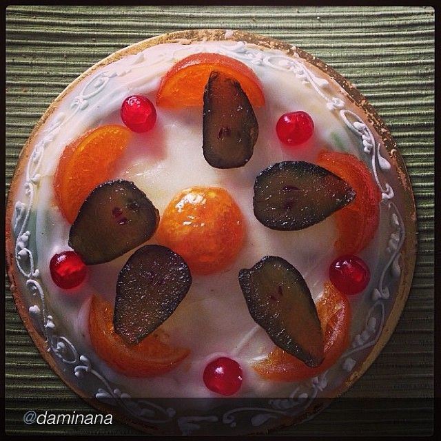 .@Italia in tavola | La cassata sicialiana by @Damiana Leo #siciliaintavola #italiaintavola