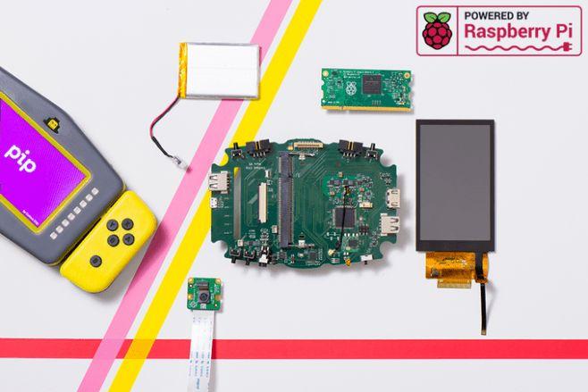 Pip! Raspberry Pi Powered Gaming Machine! http://techmash.co.uk/2017/11/27/pip-raspberry-pi-computer/