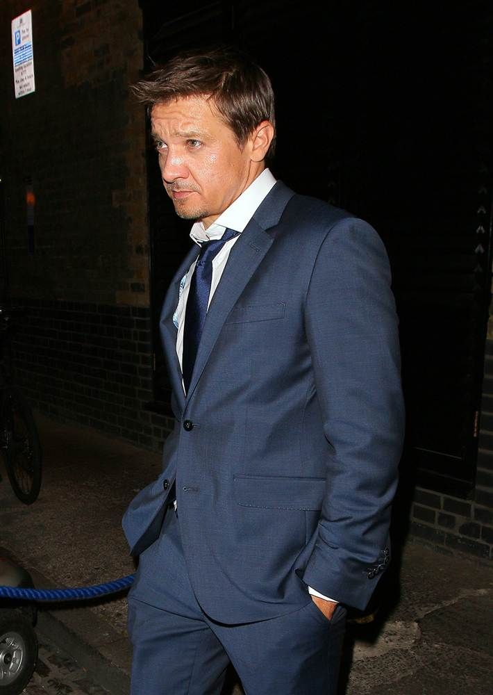 Actor Jeremy Renner at the Chiltern Firehouse on July 10, 2014 in London.