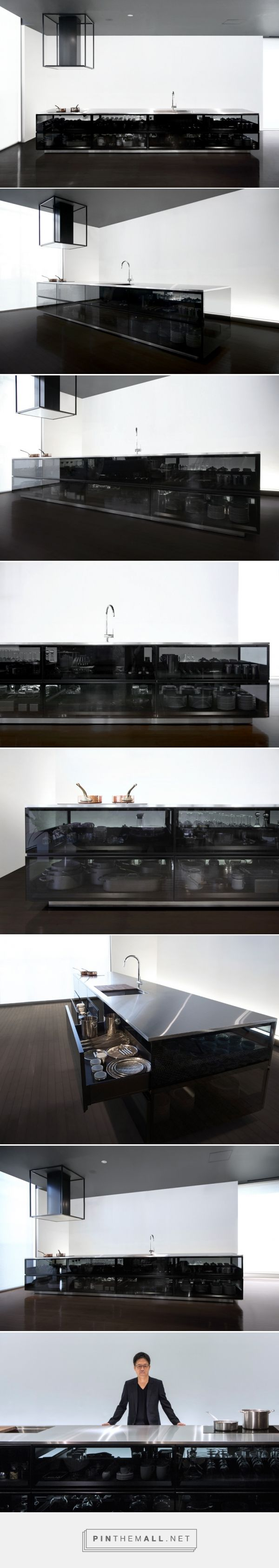 Tokujin Yoshioka Finesses Transparent Cookspace For Toyo Kitchen Style    Created Via Http://