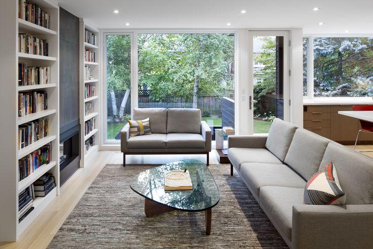 Living, Glengrove | Kyra Clarkson Architect