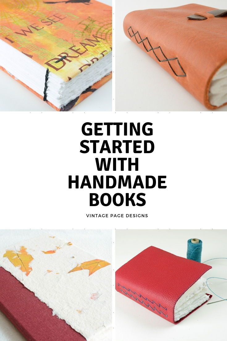 Start Here Book Binding Diy Handmade Journals Diy Handmade Books