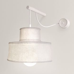 Australian made Bell Wall Light by Pierre and Charlotte gives a soft light, suitable for bedrooms and living areas.