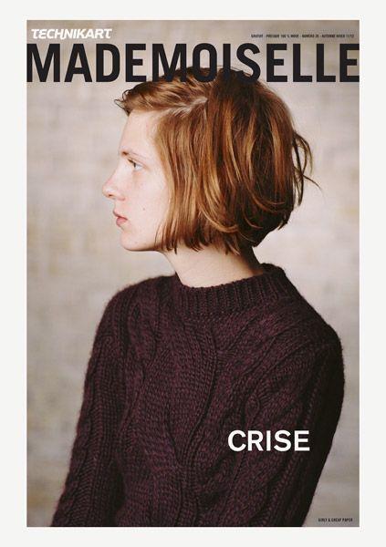 Technikart Mademoiselle.  Crisis issue, Winter 2012.