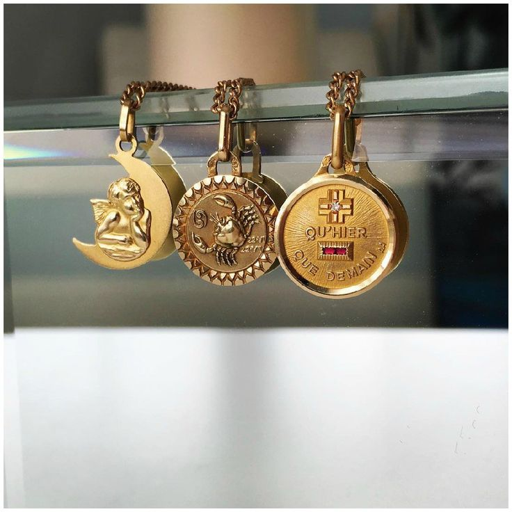 Today we're looking at the history of an iconic French love charm, the graphic and gorgeous Augis medaille d'amour. Do you know what these symbols mean?