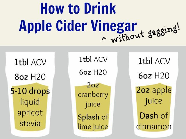 How to drink apple cider vinegar without gagging! Helps decrease bloating, cure acne, and makes your skin glow.