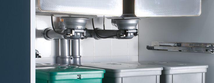 Più spazio sotto il lavello in cucina - Cose di Casa