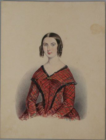 An Unknown Lady in a Red and Green Tartan Dress Unknown National Trust Inventory Number 1107482 Category Miniatures Date Unknown Materials Measurements Place of origin Collection Fox Talbot Museum, Wiltshire (Accredited Museum)