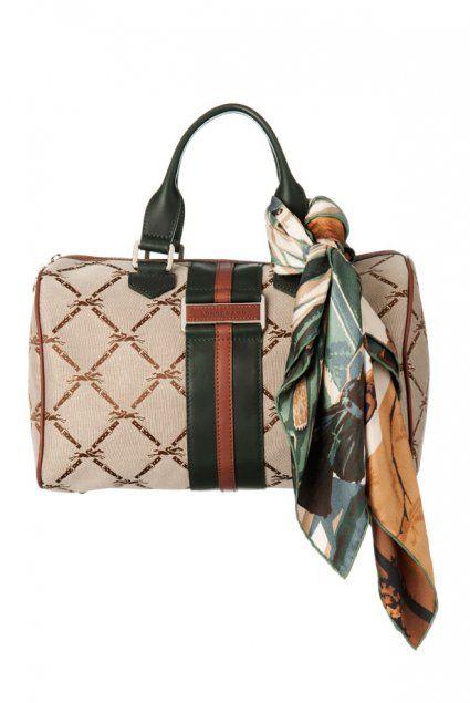 Le sac et le foulard Longchamp
