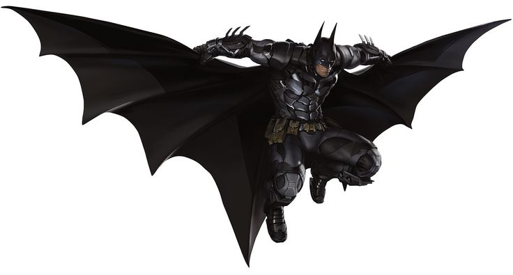 Batman Gliding for Batman Arkham Knight Game