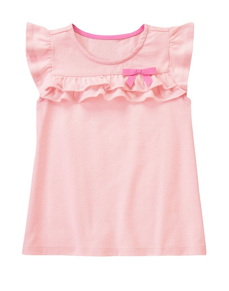 Ruffle Flutter Tee at Gymboree