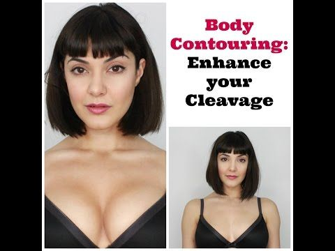 ▶ Enhance Your Cleavage- Body Contouring with Makeup - YouTube