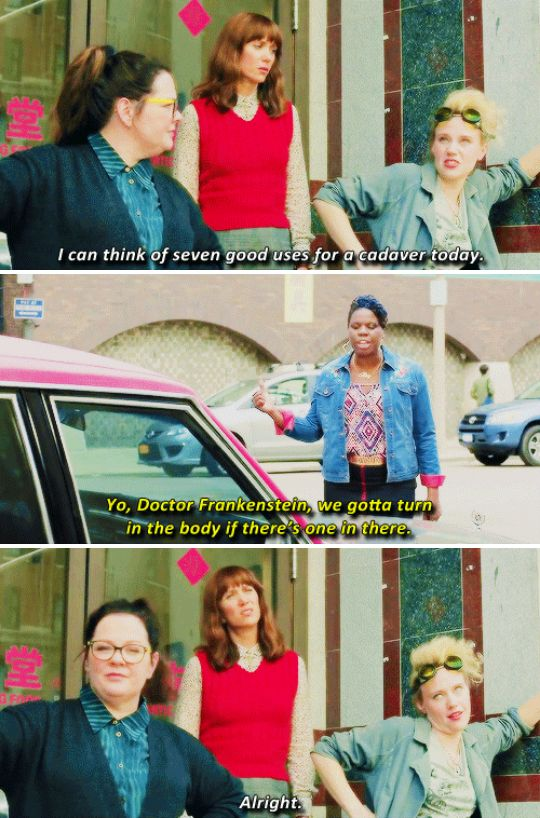 "And she's a little ~weird~, which just means you would never have a boring moment in her company. | 17 Reasons Holtzmann From ""Ghostbusters"" Is The Hero We All Need"