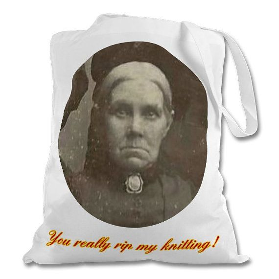 Grumpy Granny Tote Bags. Scottish phrases you're by Drewscrafts8