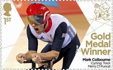 1st, Cycling: Track Men's C1 Pursuit - Paralympics Team GB Gold Medal Winners  from Paralympics Team GB Gold Medal Winners  (2012)