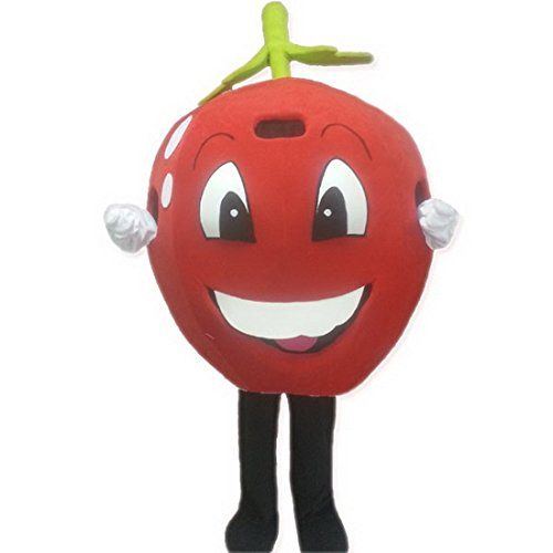 Apple Doll Fruit Walking Mascot Costume Cartoon Characte Christmas Halloween  Size  Medium170180cm  >>> Read more reviews of the product by visiting the link on the image-affiliate link.