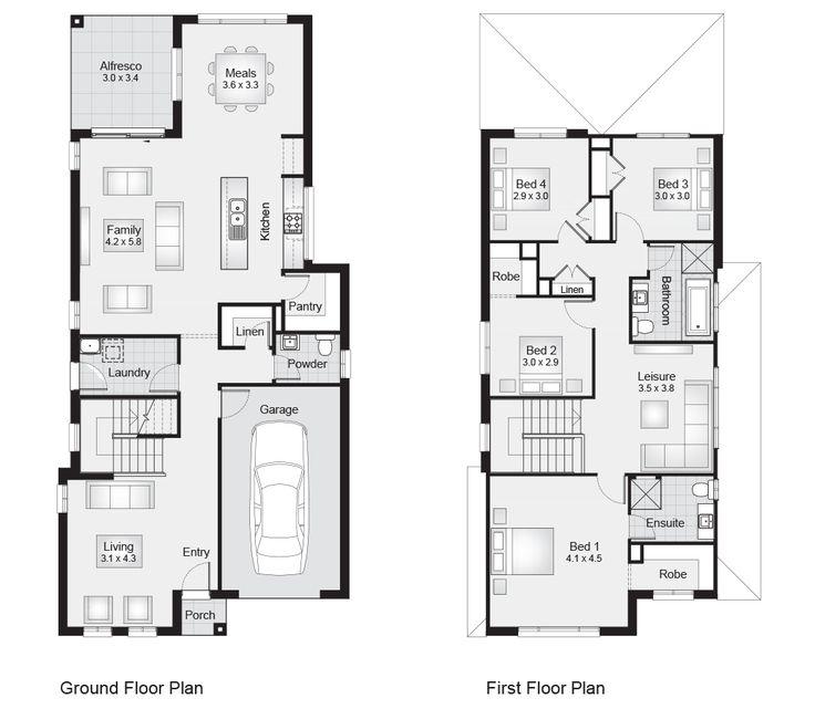 Clarendon NSW   Aria-26-Floorplan   238sqm, 8.51m width, 18.23m depth