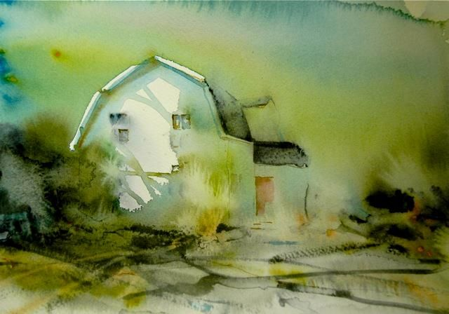 blog Akvarell av Björn Bernström