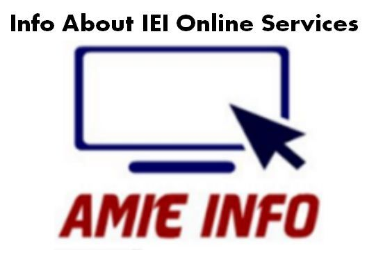 The institution of Engineers( India) offering online payment services to it's candidates for time saving and better convenient. Candidates, interested to make online payment of requisite fee by credit card for appearing in the Examination / Registration for Section 'B' Continue reading   Info About IEI Online Services→