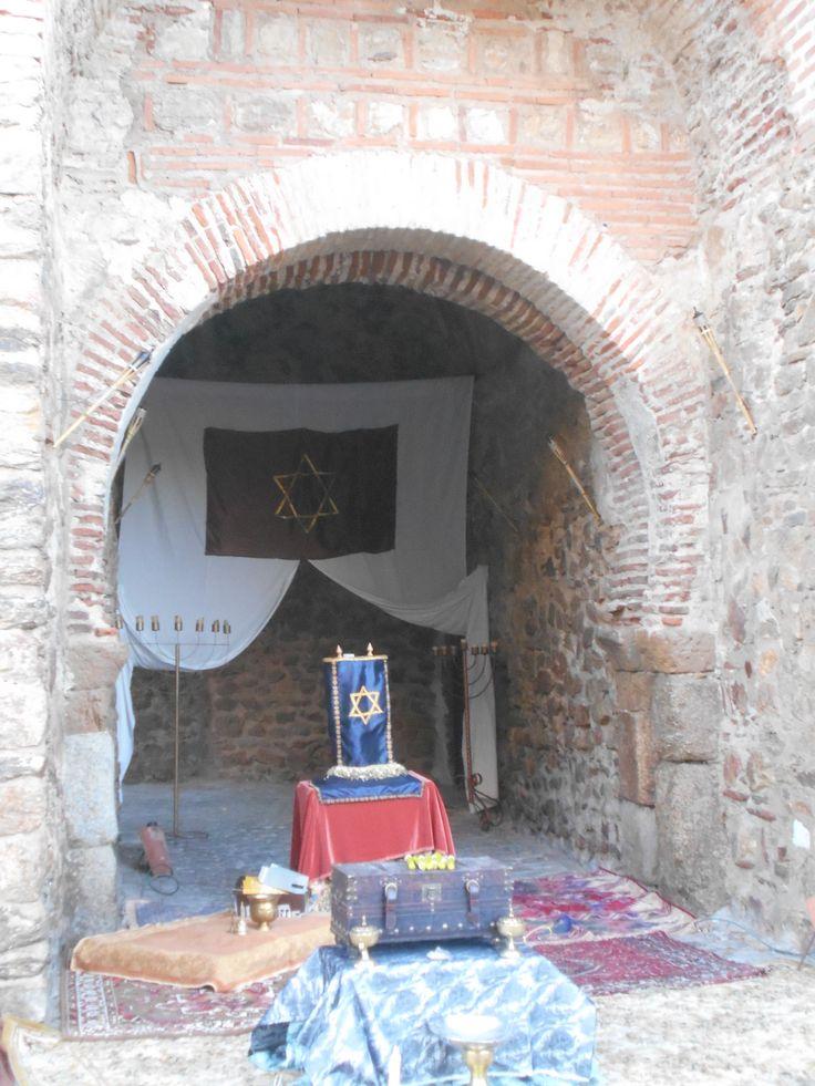 Palacio de Herodes en la Puerta Principal. Escenarios del Belen Viviente 2915