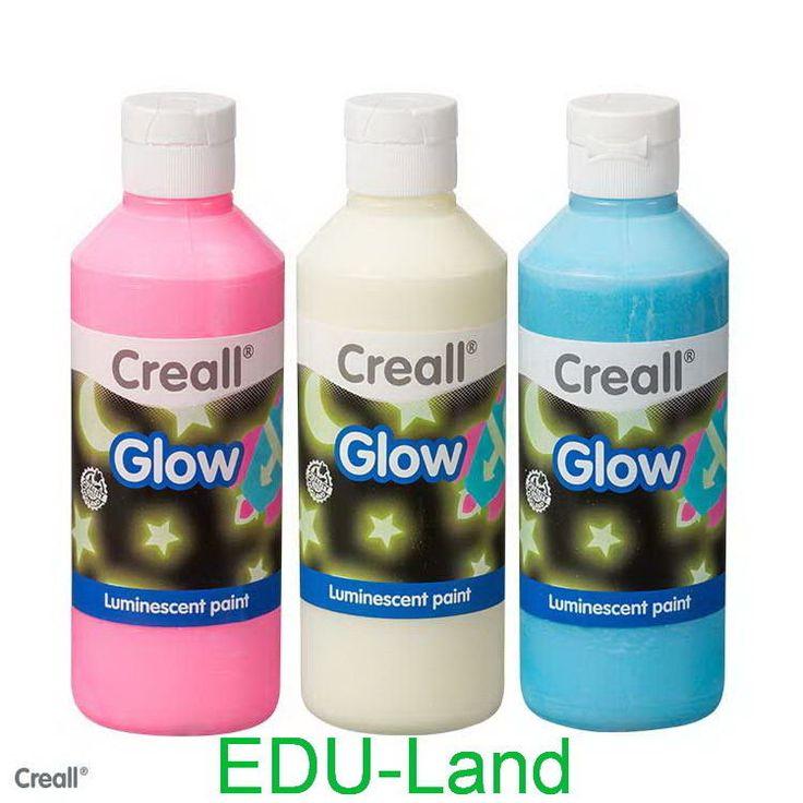 Fluor GLOW Farbe Leuchtfarbe Fluoreszierende Farbe