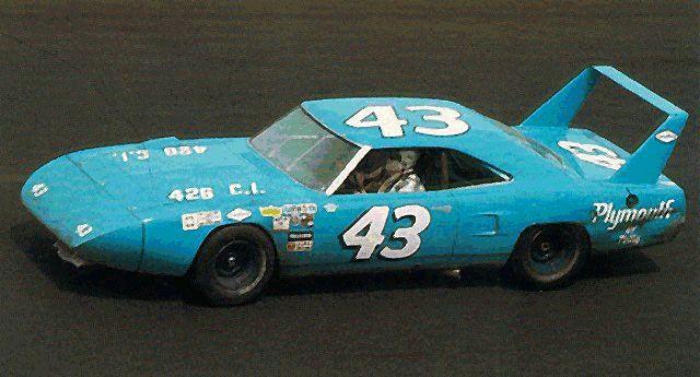 Plymouth Superbird. Richard Petty. The King.