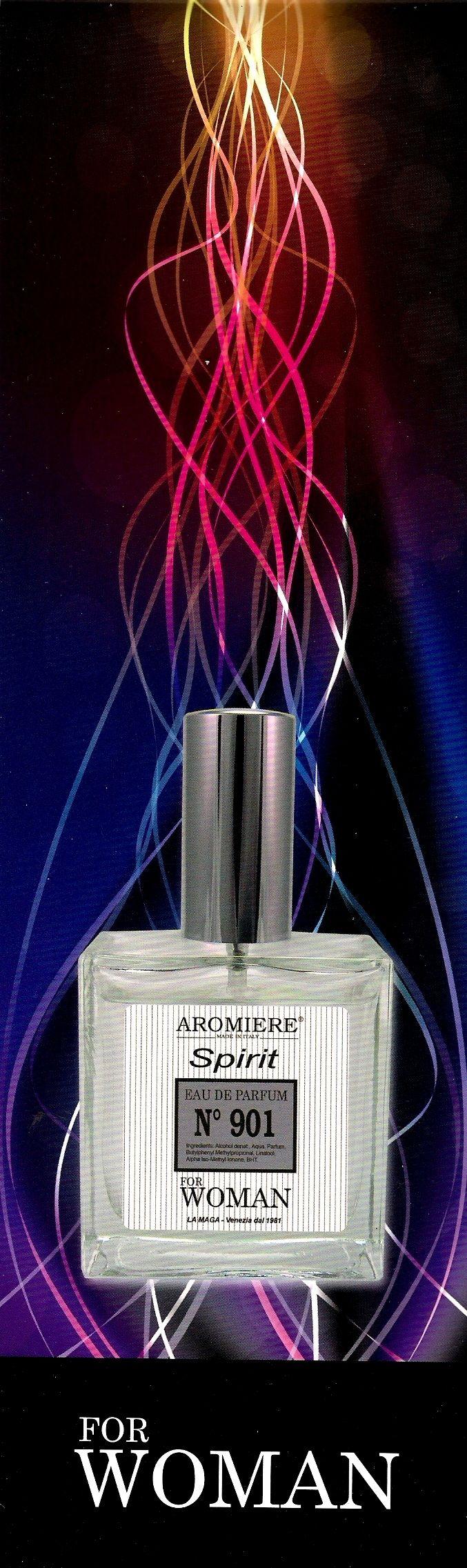 Aromiere n. 901 la fragranza ispirata al mio marchio preferito...Chanel 5!!! Persistenza di 10/12 ore.