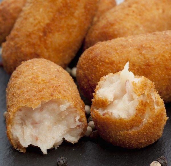 Recette - Croquettes au jambon - Tapas