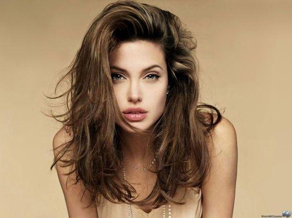 Angelina Jolie: Hair Colors, Beautiful Woman, Angelina Jolie, Brad Pitt, Desktop Wallpapers, Angelinajolie, Hair Length, Photo, Actresses