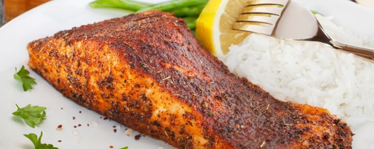 Paul Prudhomme style blackened fish