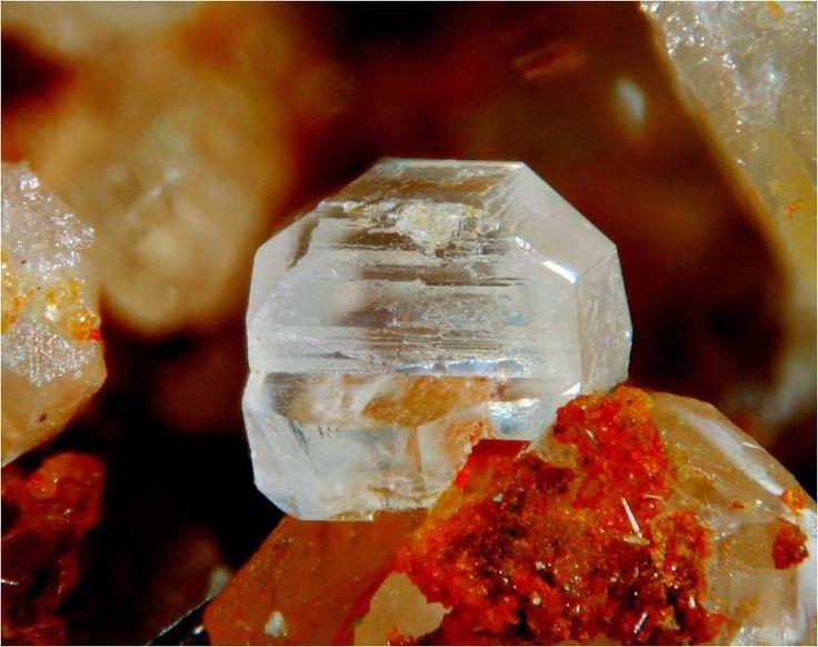 Anglesite, PbSO4, Glücksrad Mine, near Oberschulenberg, Harz, Lower Saxony, Germany. Fov 1,5 mm. Copyright: cordes