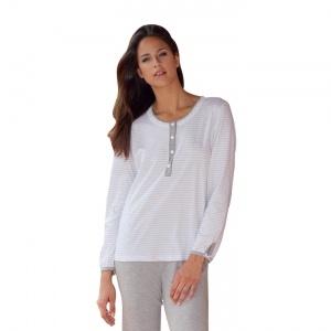 Elegante pigiama maglia/pantalone in 100 % cotone .    Creazione e Produzione interamente Made in Italy Autentico.