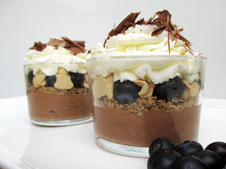 Vasitos de chocolate y dulce de leche | Cocinar en casa es facilisimo.com