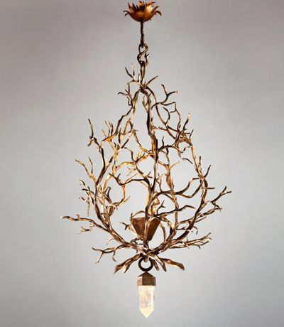 Herve Van der Straeten Lustre Branche. Lighting We Love at Design Connection, Inc. | Kansas City Design http://www.DesignConnectionInc.com/Blog #InteriorDesign