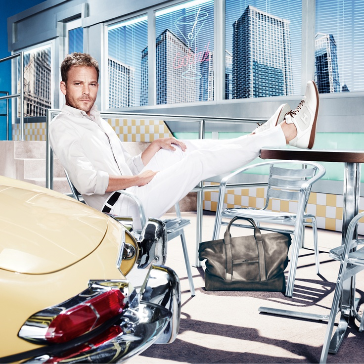 HOGAN Men's Spring - Summer 2013 campaign featuring Stephen Dorff: technology and contemporary design for a Summer style.